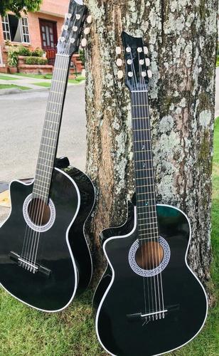 Guitarras Acusticas Zurdas Correa  Mano-metodo-forro+envio