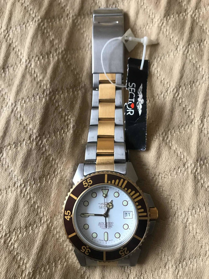 Sector Adv 3000 Diver Bisel Rootbeer Hermoso 300mts 10