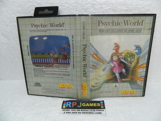 Psychic World Original C/ Caixa E Manual Game Gear - Loja Rj