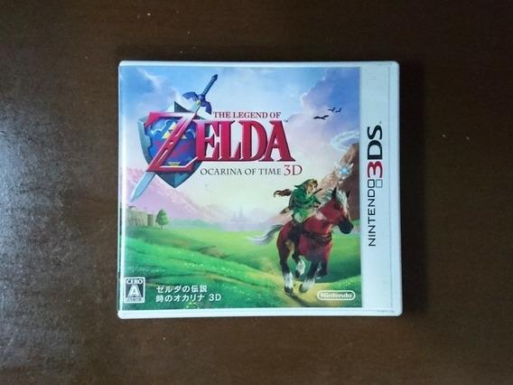 The Legend Of Zelda: Ocarina Of Time 3d 3ds Original Japonês
