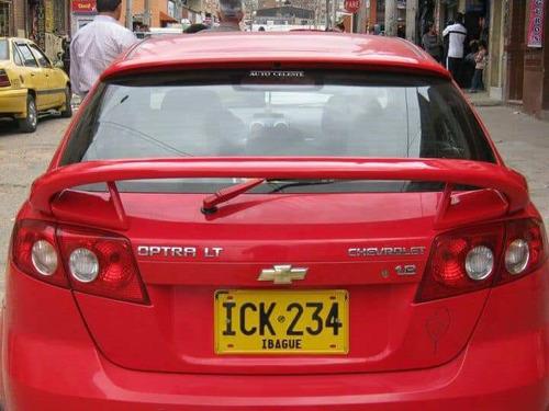 Spoiler Chevrolet Optra Lt