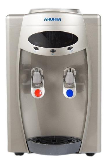 Dispenser de agua Humma Silver Mini Red gris acero 220V