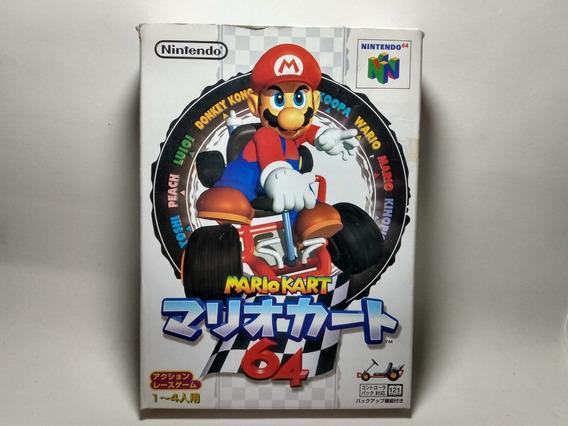Super Mario Kart 64 - Original Japonês Para Nintendo 64 N64