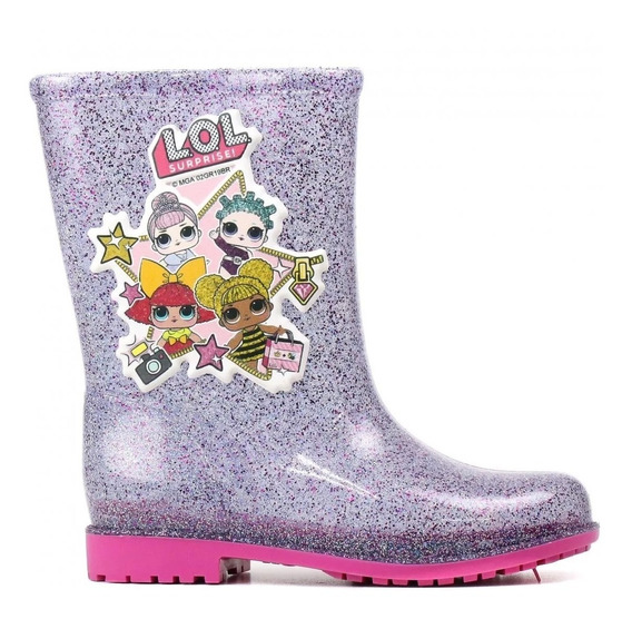 Bota Galocha Lol Surprise Glitter