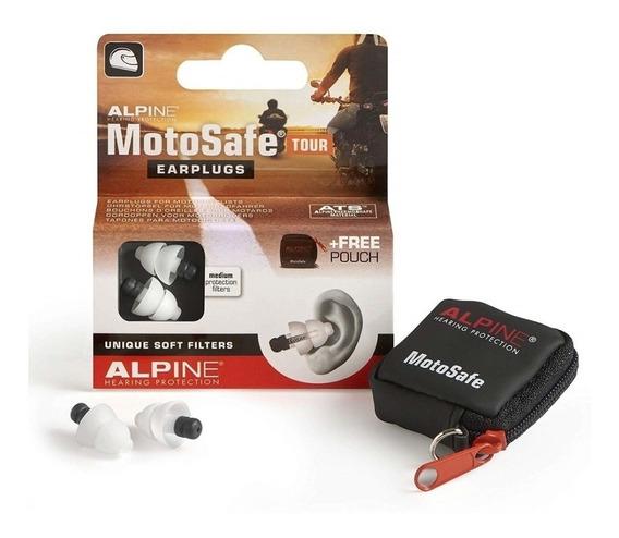 Protetor Auricular Alpine Motosafe Tour - Motociclista
