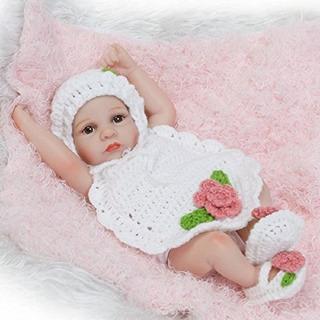 Reborn Pinky 26cm Muñecas Realista Silicona Cuerpo Completo