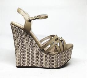 2ad00f5f27 Sandalias Anabela Via Marte 36 - Sapatos no Mercado Livre Brasil