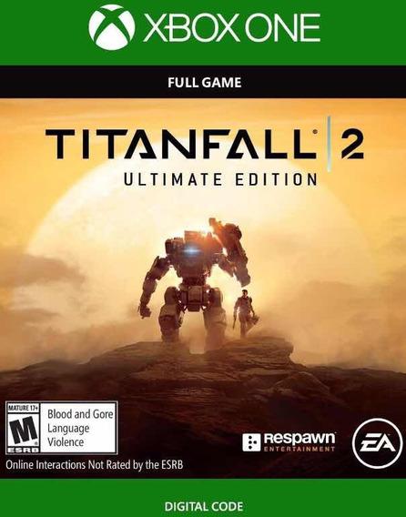 Titanfall 2 Xbox One Edição Ultimate + Dlcs Código 25