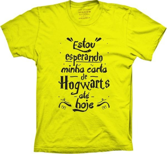 Camiseta Filme - Harry Potter - Hogwarts