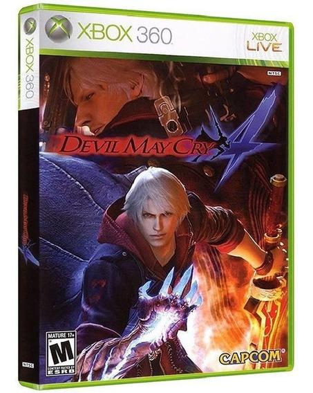 Dmc Devil May Cry 4 Xbox 360 [ Mídia Física Original Nova ]