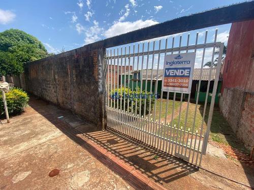 Casa À Venda, 60 M² Por R$ 180.000,00 - Jardim Vale Azul - Londrina/pr - Ca1721
