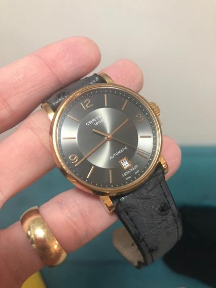 Relógio Certina - Automático - Swiss Made - Muito Barato
