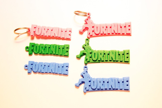 Paquete De 10 Llaveros De Fortnite