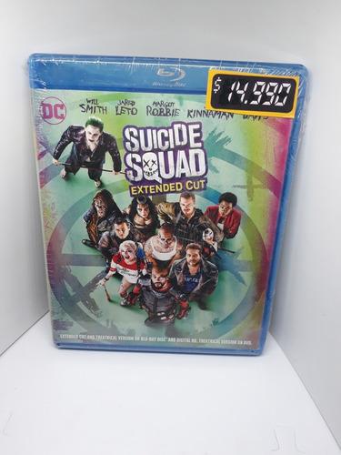 Imagen 1 de 1 de Suicide Squad Pelicula Bluray Escuadron Suicida