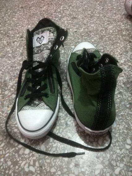 Zapatos Deportivo Conver Barato Color Verde