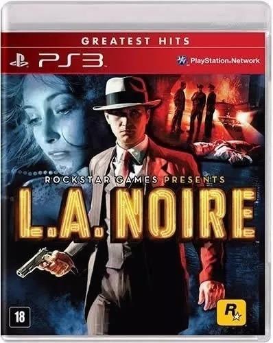 Jogo L.a. Noire Greatest Hits Ps3 Mídia Física (usado)
