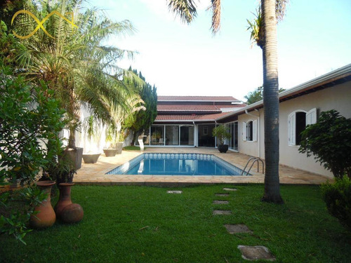 Imagem 1 de 30 de Chácara Com 6 Dormitórios À Venda, 1345 M² Por R$ 2.500.000,00 - Jardim Dos Calegaris - Paulínia/sp - Ch0096