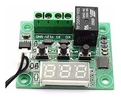 Termostato Digital Arduino W1209 Chocadeira