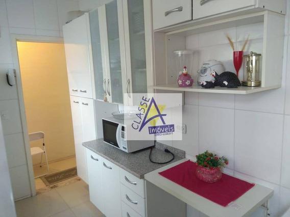 Apartamento Com 1 Dormitório À Venda, 47 M² Por R$ 280.000 - Cerâmica - São Caetano Do Sul/sp - Ap0421