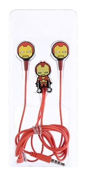 Fone De Ouvido Miniso - Homem De Ferro