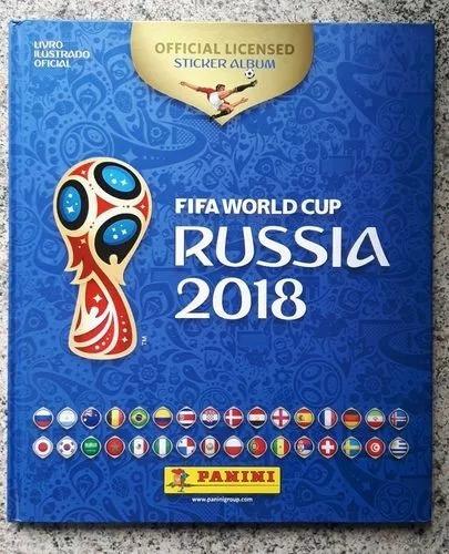 Álbum Capa Dura Completo Copa Rússia 2018 Figurinhas Soltas