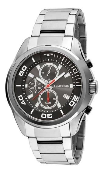 Relógio Technos Aço Inox Masculino Social Js15en1c