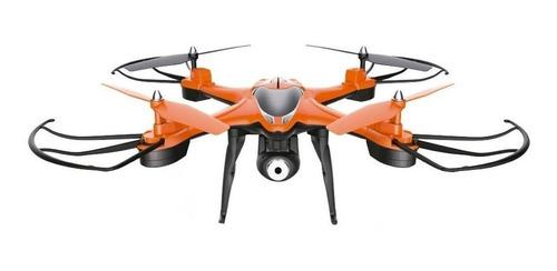 Imagen 1 de 2 de Drone Gadnic Gadnic Buzzard T30 con cámara HD naranja