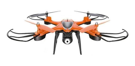 Drone Gadnic Buzzard T30 con cámara HD naranja