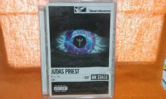 Dvd Judas Priest - Electric Eye On Stage