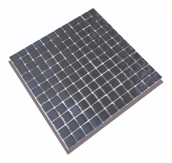 Venecitas Negro Premium 2,5x2,5 Por M2 Revestimiento