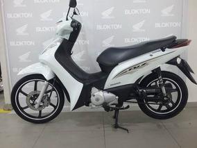 Honda Biz 125 2016 Branca Per Flex