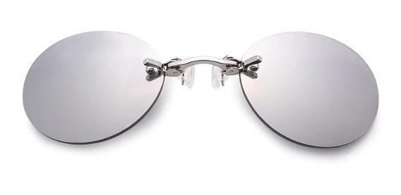 Óculos Matrix Morpheus Prateado Promoção