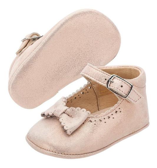 Zapato Merceditas Bebe Niña Moño Georgie Salmon