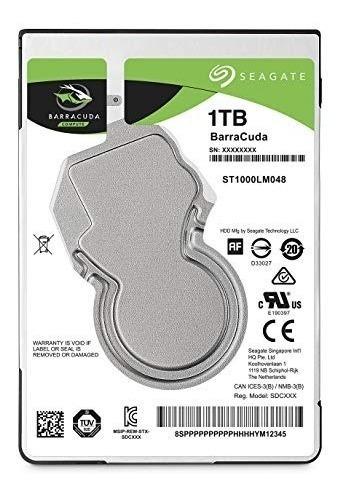 Hd Seagate Notebook 1tb 128mb 5400rpm Firecuda Flash 8gb