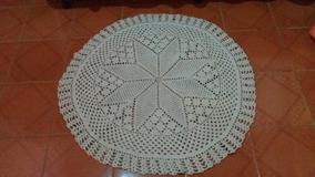 Tapete De Crochê (estrela 8 Pontas)