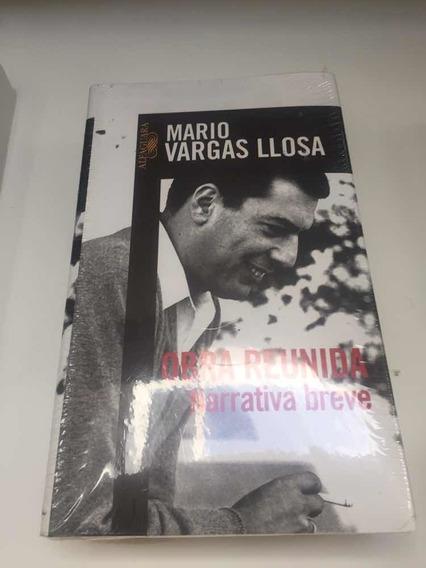 Libro, Obra Reunida, Narrativa Breve, Mario Vargas Llosa