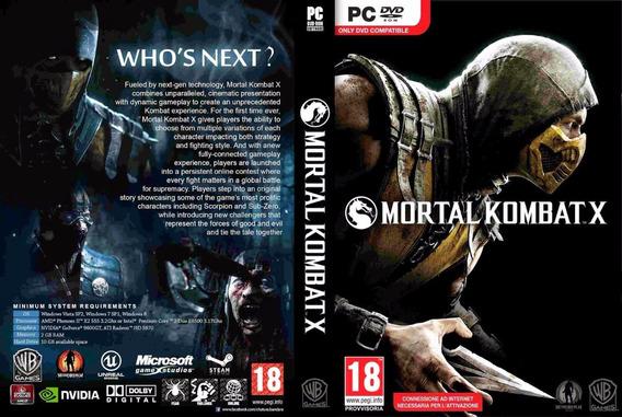 Mortal Kombat X Pc Steam Code Cd-key