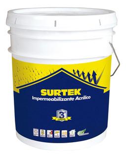 Surtek-impermeabilizante Color Terracota 19l *imt3