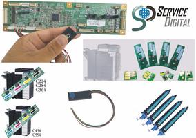 Reset Cilindro Chip Konica Minolta C224 C364 C284 C454 C554