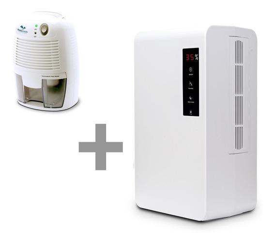 Desumidificador De Ar 3 L + Desumidificador De Ar De 500ml