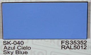 Sicko Acrilicos Sk040 Azul Cielo Sky Blue Fs35352