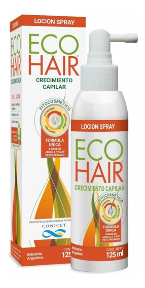 Eco Hair Loción Crecimiento Anticaida X 125ml