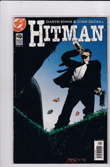 Hqs - Hitman Nº 01,02,04,06 (lote 4 Revistas)