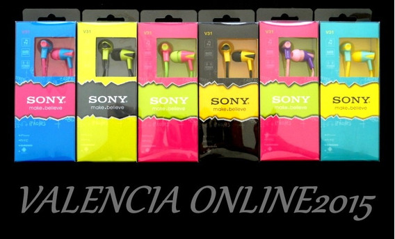 Audifonos Sony Stereo 3.5 Mm Mp4 Tablet iPhone Htc Samsung!