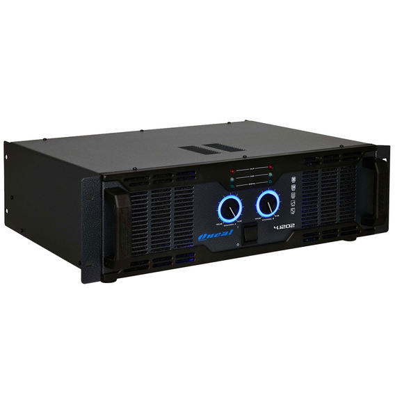 Amplificador 2ch 1230w 8 Ohms - Olp 4 1202 Oneal