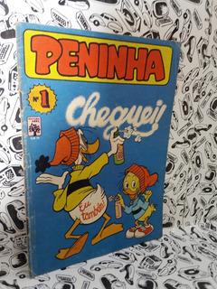Hq Peninha Nº 1 1982 Cheguei! Foto Real