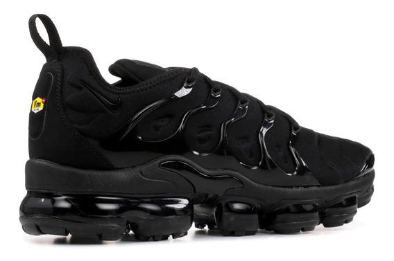 Zapatillas Vapormax Plus Negro Triple Black