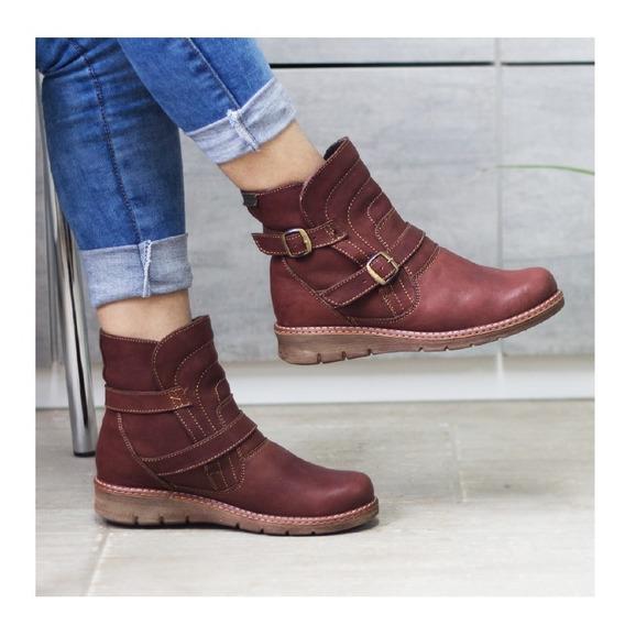Botines Cuero Dama, Zapatos Cuero Maribu Shoes - Mod #758