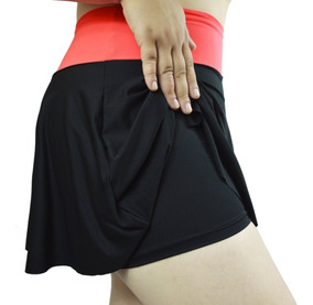 Tapa Bumbum Short Saia Rodada Fitness Lindo