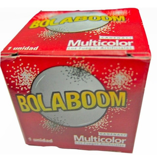 Bola Boom X12un -apto Renar- Promo Pirotecnia La Golosineria